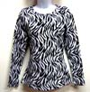 COWGIRL US COTTON ZEBRA LONG SLEEVE